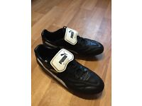 Puma King Classics FG leather football boots UK10