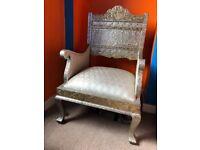 Luxury chair/throne, good for restoration for season santa