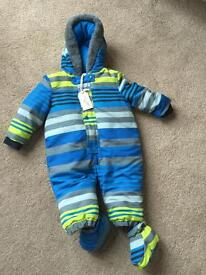 Winter one suit snowsuit 6-9mths new with tags