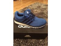 BRAND NEW ADIDAS ENERGY CLOUD BLUE TRAINERS - Size 12