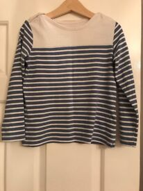 M&S girls top age 4-5