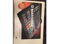 BRAND NEW MASCHINE STUDIO 2.0 - FULLY BOXED NEVER USED, UNWANTED GIFT