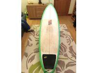 """Nigel Semmens hybrid shortboard,6'6"""","""