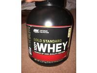 Golden standard French Vanilla protein shake