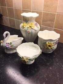 Fine Bone China From Princess House - (4 Pieces)