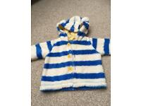 Joules baby hooded jacket