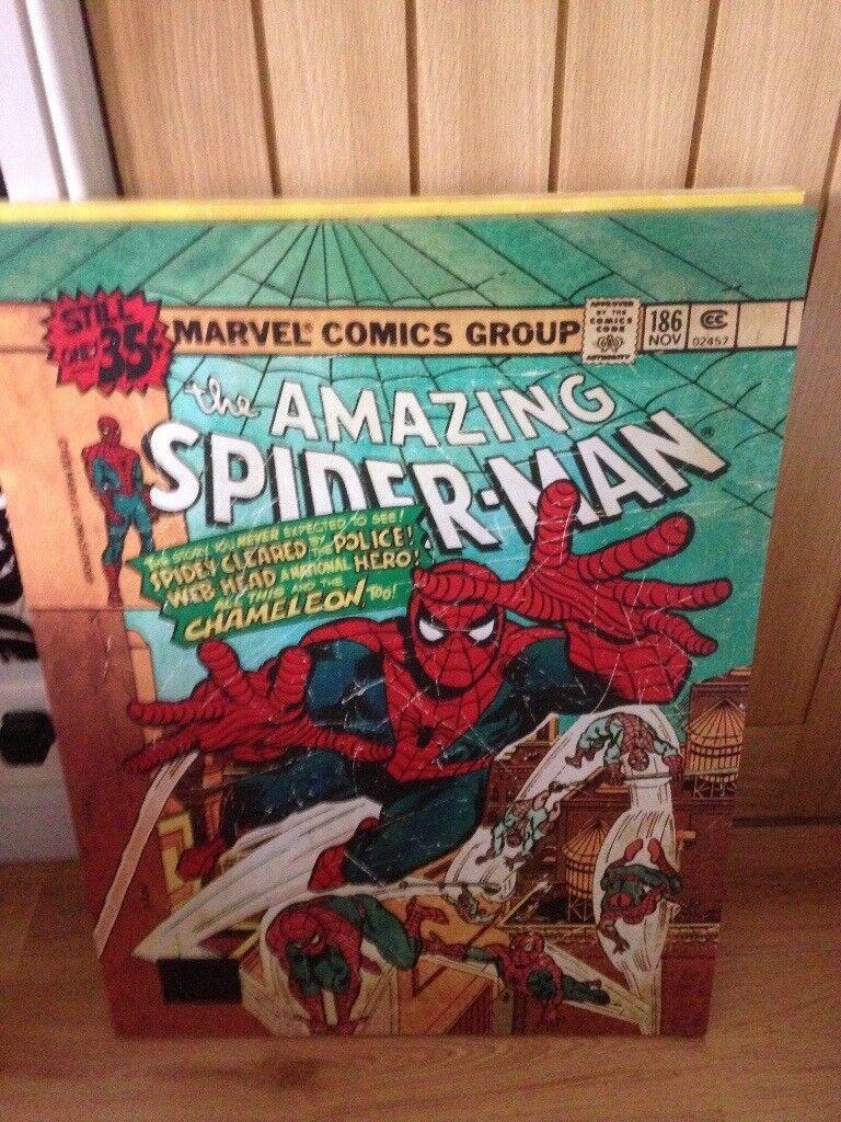 Marvel Comic canvas prints for sale