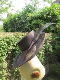 cb6c7e8afbcd5 Beautiful Brown Straw Hat for Wedding Ascot