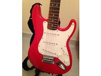 Fender mini squier and practice amp