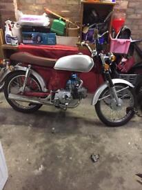 Replica Yamaha fs1e Honda ss 70s retro cafe racer