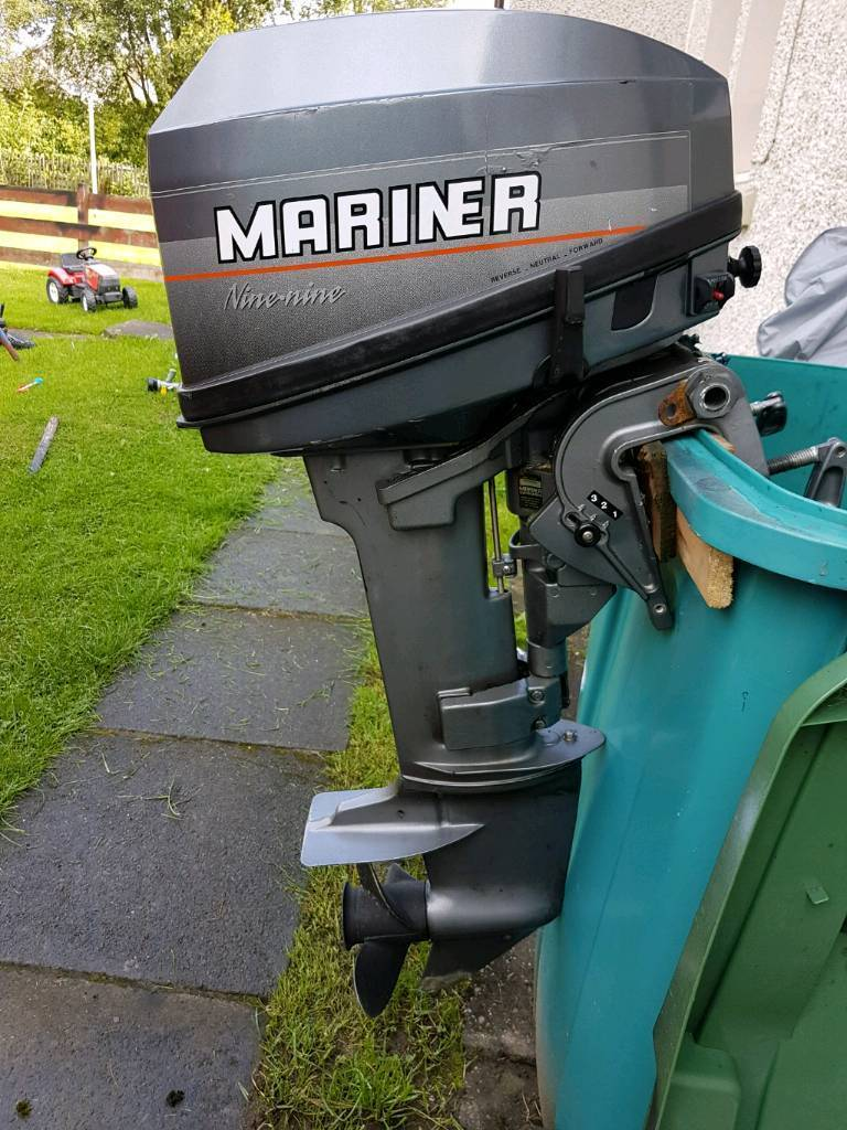 Mariner 9.9mh outboard