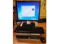 Fuji Esprimo E5710 ATI Dual core,80 GB HDD,1GB RAM, Windows 7,17 inch Monitor,keyboard & Monitor