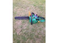 Chain saw. Garden line Model TE41F
