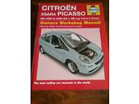 Citroën xsara picasso haynes workshop manual