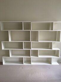 Contemporary bookshelves