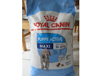 Royal Canin puppy food (15kg) - unopened