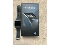 Fitbit Ionic - Smart Watch with Heart Rate Monitor -Like new