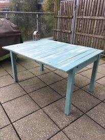 BESPOKE vintage distressed outdoor table