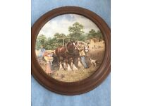 Wedgwood 'Down on the Farm' Wall Plates