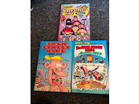 Various Annuals, Dandy, Beano, Bash Street Kids, Dennis The Menace