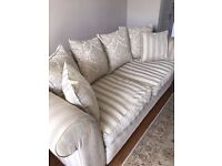 2 Large 4 Seater Sofa - used good condition