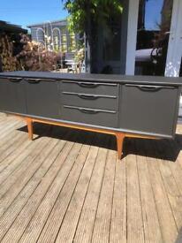 Mid century painted sideboard