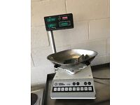 Commercial butchers scales cafe deli catering shops