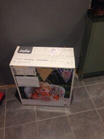 New in box Joie MimzySnacker. Unopened. Unwanted gift