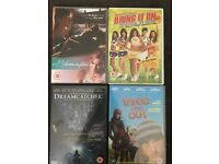 DVDs for £5 or £2 each