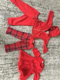 Baby girl 6 months winter/Christmas outfits
