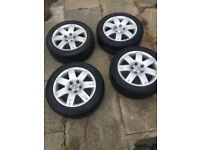 Standard vw alloys wheels