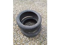 Yokohama tyres (2) 205/40/R17