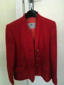 Vintage Red Aquascutum suit.