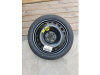 Space saver Vauxhall Panopa spare wheel Just reduced from £60 BRAND NEW