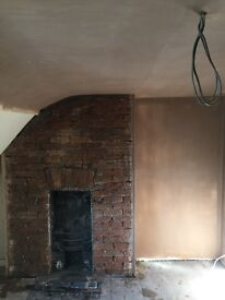 Plastering and renovating