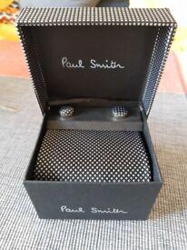 Paul Smith Tie & Cufflinks Set (Brand New)
