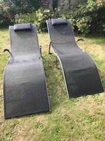 Garden Chairs £25.00 for the pair