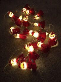 Gorgeous Santa Christmas Lights