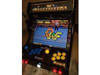 WWF WWE BARTOP ARCADE WRESTLEFEST SUPERSTARS
