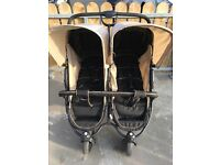 Double Pram, Roadster Hauck Duo, Great condition, raincover included!