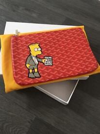 Edmond masion monogram madrid document wallet, ipad wallet, goyard supreme babe lv