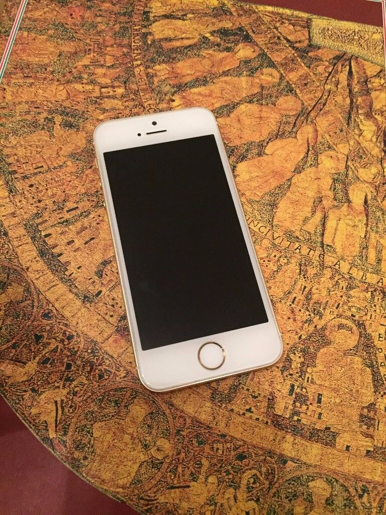 Iphone SE 16GB Gold-Excellent condition