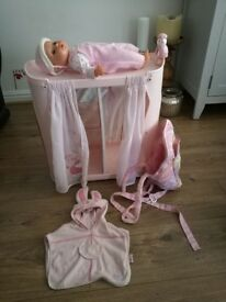 Baby Annabelle changing station & accesories