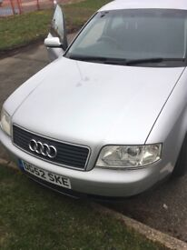 Audi A6 1.8t 2002 Very Low Mileage Only 93212 miles
