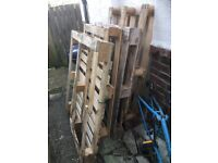 4 x Wooden Pallets - free to collector