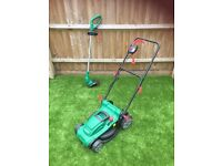 Qualcast Mower and Trimmer Set