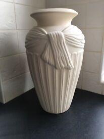 Large cream vase