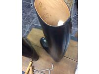 Brand new Regent leather ladies riding boots size.7.5
