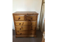 Chest of drawers. Must go this Sat 20th.