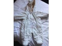 Baby snow suit / prom suit